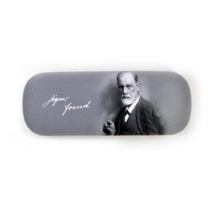 Sigmund Freud Glasses Case with Lens Cloth Thumbnail 3