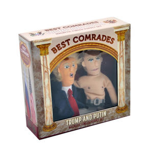 "Trump & Putin ""Best Comrades"" Finger Puppet Set Thumbnail 5"