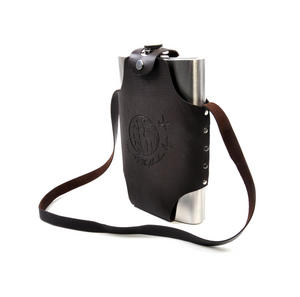 Travel Wine Flask and Holster - Let The Adventure Begin Thumbnail 5