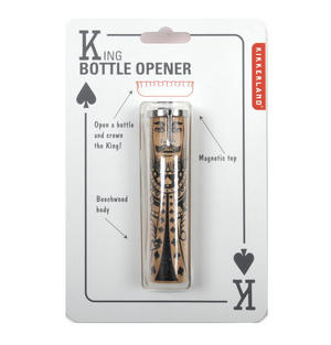 King of Spades Bottle Opener