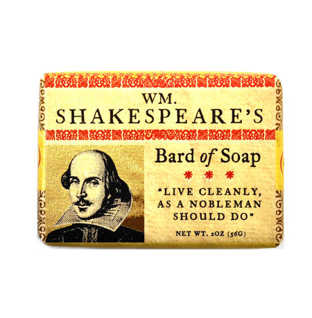 William Shakespeare Bath Soap