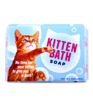 Kitten Bath Soap Thumbnail 1