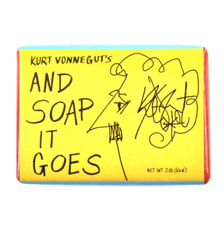 Kurt Vonnegut's And Soap It Goes Bath Soap