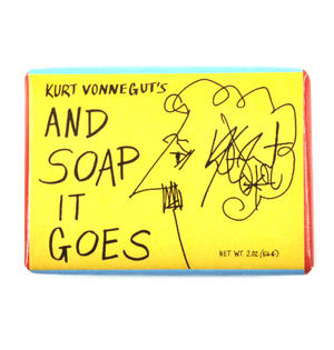 Kurt Vonnegut's And Soap It Goes Bath Soap Thumbnail 1
