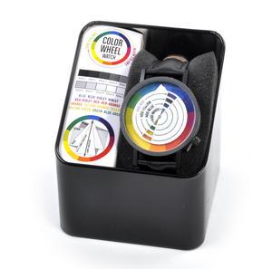 Color / Colour Wheel Watch - The Wristwatch For Colourists, Painters, Interior Designers Thumbnail 3
