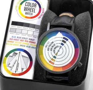 Color / Colour Wheel Watch - The Wristwatch For Colourists, Painters, Interior Designers Thumbnail 4