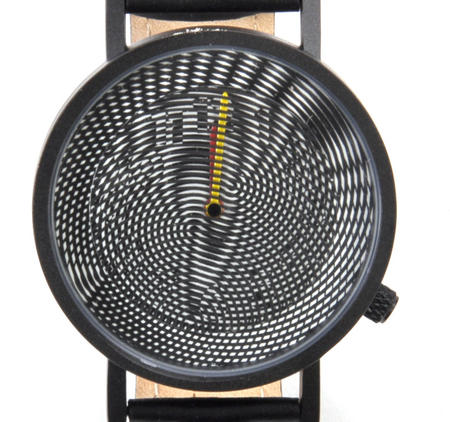 Moiré Watch - The Wristwatch For Optical Illusionists, Printers, Photographers