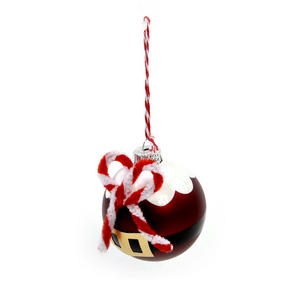 Santa Bauble - Hanging Christmas Decoration