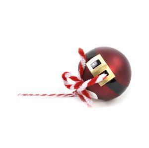 Santa Bauble - Hanging Christmas Decoration Thumbnail 3