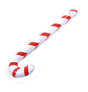 Inflatable Candy Cane Christmas Decoration (90cm x 25cm x 8cm) Thumbnail 2