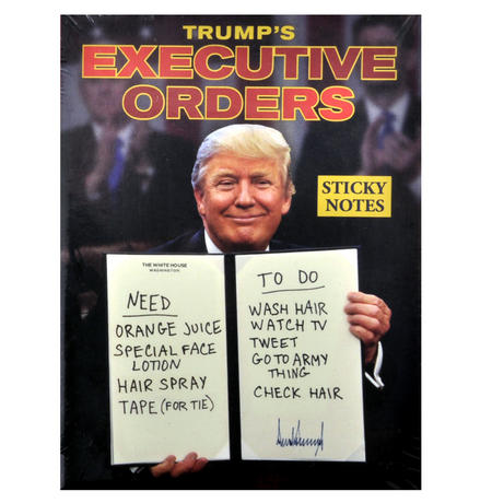 Trump's Executive Orders Sticky Notes Set