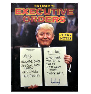 Trump's Executive Orders Sticky Notes Set Thumbnail 1