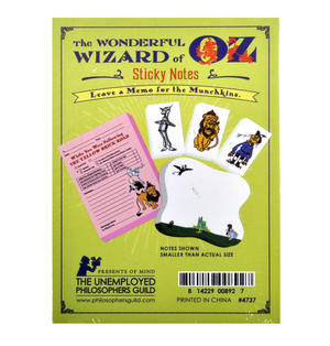 Wizard of Oz Sticky Notes Set Thumbnail 2