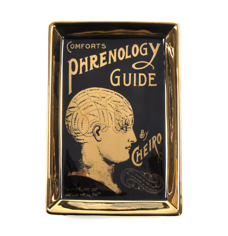 Comforts Phrenology Guide by Cheiro Trinket Dish