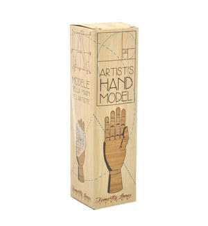 "Artist's Hand Model - Essential Articulated Wooden 7"" Model Thumbnail 4"