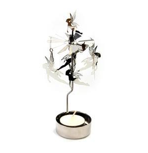 Fairy / Fairies Anglaspel - Rotary Candle Holder