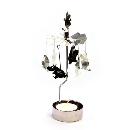 Moomins / Mumintroll Anglaspel - Rotary Candle Holder