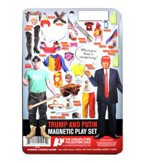 "Trump & Putin ""Bad Hombres"" Magnetic Play Fridge Magnet Set Thumbnail 2"