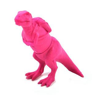 T Rex Pink Highlighter Pen