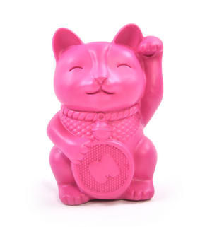Lucky Cat Pen Holder Desk Organiser Thumbnail 1