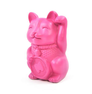 Lucky Cat Pen Holder Desk Organiser Thumbnail 2