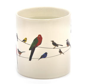 Birds on a Wire Heat Change Mug Thumbnail 1