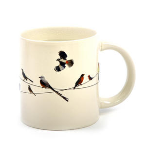 Birds on a Wire Heat Change Mug Thumbnail 2