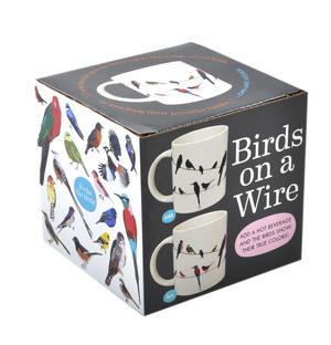 Birds on a Wire Heat Change Mug Thumbnail 3