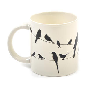 Birds on a Wire Heat Change Mug Thumbnail 4