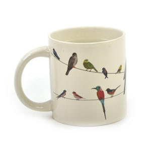 Birds on a Wire Heat Change Mug Thumbnail 5