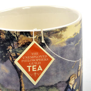 Benjamin Franklin Electrici-Tea Mug with Tea Bag Notch Thumbnail 2