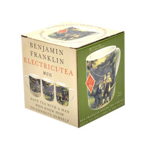 Benjamin Franklin Electrici-Tea Mug with Tea Bag Notch Thumbnail 4