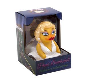 Pond Bombshell Rubber Duck - Celebriduck for Marilyn Monroe Fans Thumbnail 3