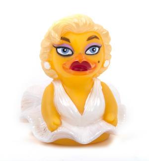 Pond Bombshell Rubber Duck - Celebriduck for Marilyn Monroe Fans Thumbnail 5