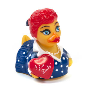 I Love Ducky Rubber Duck - Celebriduck for I Love Lucy Fans