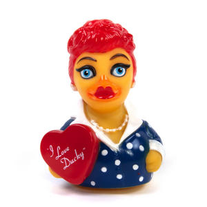 I Love Ducky Rubber Duck - Celebriduck for I Love Lucy Fans Thumbnail 2