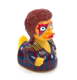 Ziggy Starduck Rubber Duck - Celebriduck for David Bowie Fans Thumbnail 1