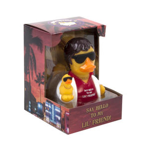 Say Hello to My Lil' Friend Rubber Duck - Celebriduck for Al Pacino Scarface Fans Thumbnail 5