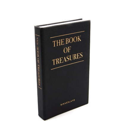 The Book of Treasures Jewelry Book - Disguised Jewellery Box