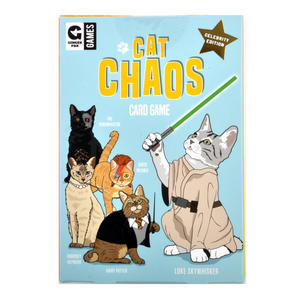 Cat Chaos Card Game - Celebrity Edition with Hairy Potter David Meowie Luke Skywhisker Thumbnail 1