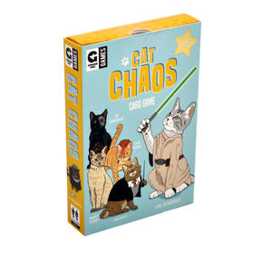 Cat Chaos Card Game - Celebrity Edition with Hairy Potter David Meowie Luke Skywhisker Thumbnail 4