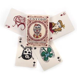 Tattoo Playing Cards - Random Red or Blue Backed Thumbnail 1