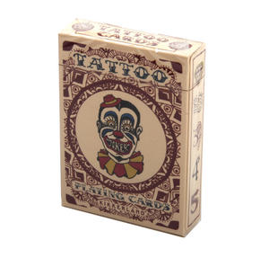 Tattoo Playing Cards - Random Red or Blue Backed Thumbnail 3