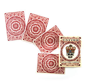 Tattoo Playing Cards - Random Red or Blue Backed Thumbnail 5