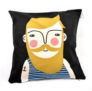 Frank - Swedish Friend Cushion / Pillow Thumbnail 1