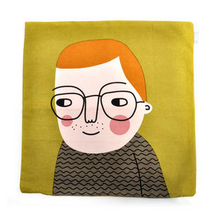 Jesper - Swedish Friend Cushion / Pillow Thumbnail 2