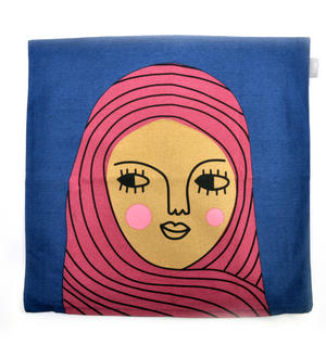 Malinka - Swedish Friend Cushion / Pillow Thumbnail 2