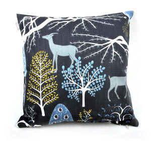 Blue Sagoskog Swedish Fairytale Cushion / Pillow Thumbnail 1