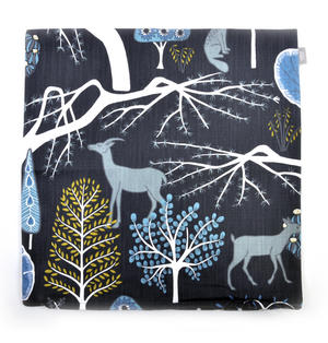 Blue Sagoskog Swedish Fairytale Cushion / Pillow Thumbnail 2