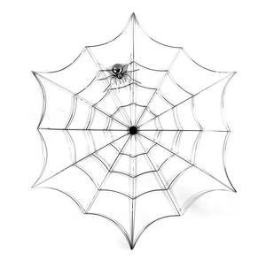 "Spider and Web - 21"" / 53cm Metal Wall Decor Thumbnail 4"